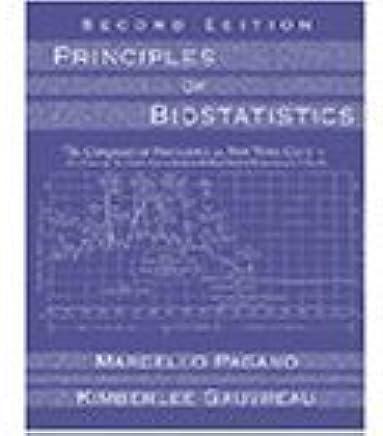 Principles of Biostatistics with CD: Pagano M  Et Al: 9788131502112