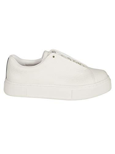 Eytys Luxury Fashion Herren DTW005WHITE Weiss Leder Sneakers | Jahreszeit Outlet