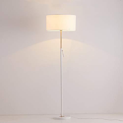 Nordic Creative Lift staande lamp, zwart-wit smeedijzeren stof lamp woonkamer verticale lamp modern minimalistisch slaapkamer sofa nachtkastje staande lamp verlichting