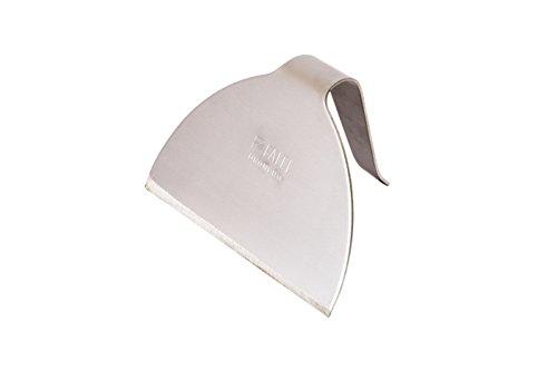 FALCI 249966 – 01 Grattoir emporte-pièces en Acier Inoxydable, 249966 – 01, Gris, 15 x 20 x 20 cm, 249966 – 01