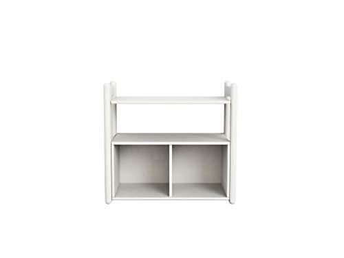 FLEXA Shelfie Mini A Regal mit 1 Boden Rahmen Weiß Natur oder Terra 81-26203-40