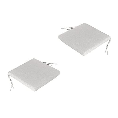 Edenjardi Pack 2 Cojines para sillas de jardín estándar Ol