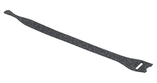 Hellermann Tyton 130-00013 Kabelbinder aus Polyamid, Schwarz, 10 Stück (20 cm, 12,5 mm, 1,3 mm, 10 Stück)