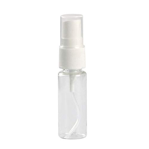 Mini Travel Empty Transparent Plastic Shows Cosmetic Spray Bottle Makeup Bottle Moisture Perfume Bottle With Atomizer 15ml