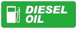 Seal&Sticker's 燃料表示ステッカー【2枚組】(軽油 ディーゼル DIESEL B,英文) sts-gas_dsel_01_st_b