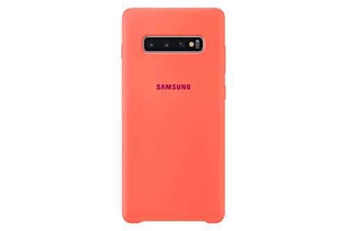 Samsung Silicone Cover, Funda para Samsung Galaxy 10+, color Rosa (Pink)