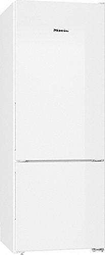 Miele KD 26022 ws Kühl-Gefrier-Kombination / Energieeffizienz A++ / 162,3 cm Höhe / 196 kWh / 55 Liter Gefrierteil / Optimale und wartungsfreie Ausleuchtung des Innenraums mit LED