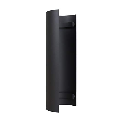 LANZZAS Rauchrohr Ofenrohr Kaminrohr Hitzeschutzschild Thermoschild für gerades Rohr Ø 150 mm grau