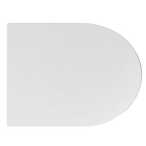 Copriwater Tavoletta Sedile WC COPRIVASO SLIM MOON ASTER SOFT CLOSING RAK Bianco