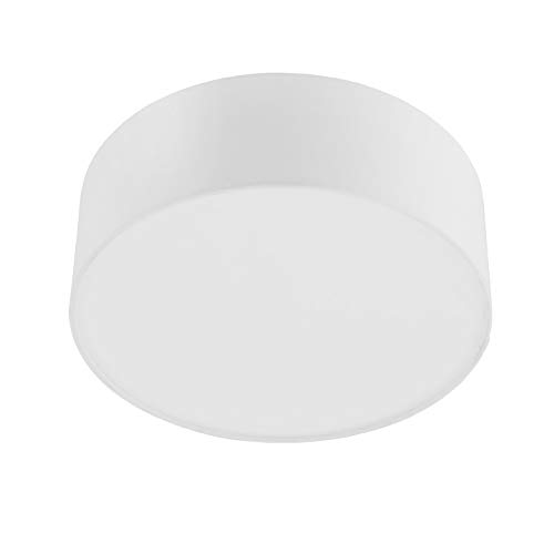 INSPIRE - Deckenleuchte aus Stoff SITIA Ø 29 cm - Für E27 Glühlampe - Weiß