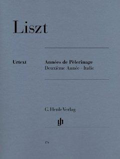 ANNEES DE PELERINAGE 2 - ITALIEN - arrangiert für Klavier [Noten / Sheetmusic] Komponist: LISZT FRANZ