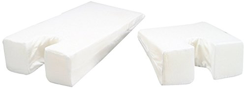 Face Down Stomach Sleeper Foam Wedge Pillow (29' x 14' x 2.5' : 6' Rise) – Orthopedic Grade...