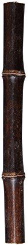 Natur-deko 15 Bambusstäbe, Bambus 150mm / 15 cm DUNKEL