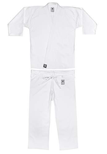 Karategui Kimono Karate | Todos los Tamaños y Tipos (10oz - Algodón Premium, 190cm)