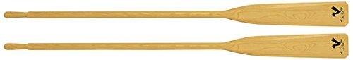 1 Paar Ruder Holz Riemen Paddel 195 cm