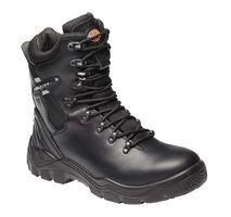 Dickies-Workwear Fd23375 Bk 9 Quebec Lnd SS Stiefel, Schwarz, Größe 43