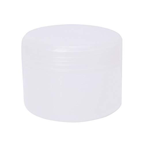 dinglihuaqu Leere Flaschenbehälter Reiseflasche 250g Weiß/Transparent Plastic Kosmetik Reisen leeren Gläser Töpfe Make-up Creme Lippenbalsam Container (Color : 4/7mm Hose Interface Tee)