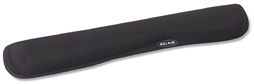 Belkin F8E263-BLK WaveRest Gel Wrist Pad for Keyboards, Black