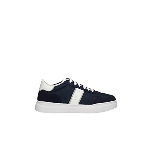 KEYS Zapatos Deportivos de Hombre en Tejido Azul 4601-BLU 44 EU