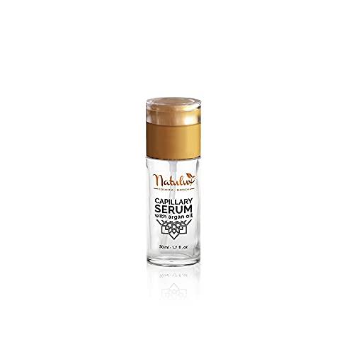Sérum capillaire d'argan - coco chanel   destiné à soigner et à embellir vos cheveux et à l'oxygénation du cuir chevelu   fabriquée au Maroc   ( 50 ml )