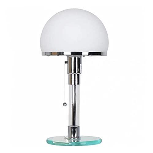 Billaew - Lámpara de escritorio respetuosa con los ojos, elegante y sencilla, lámpara de mesa para dormitorio, salón, café
