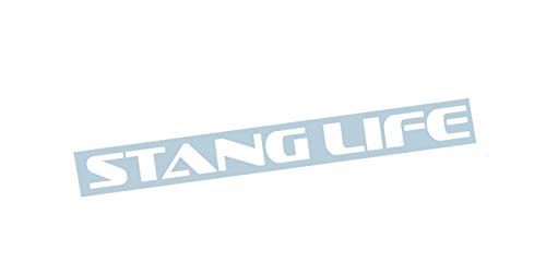 Xpin Graphics Mustang Stang Life Windshield Banner Sticker Decal 23