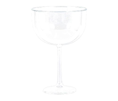 Amscan Party Supplies Jumbo Wine Glass-Clear, 47 oz, Multi