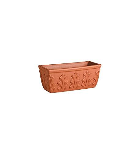 Testrut Roma (Roma) 364.997 Argilla Vaso di Fiori 54 x 22 x 19 cm