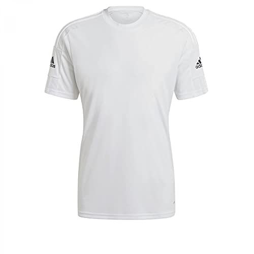 adidas GN5726 Squad 21 JSY SS T-Shirt Mens White/White/Black L