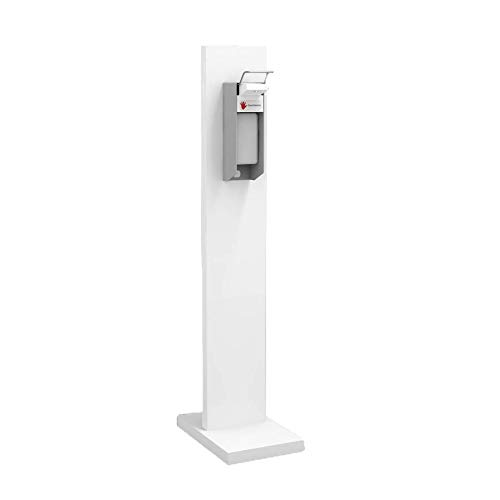 Hygienesäule Hand Desinfektionsstation MINI S   Desinfektionsmittelspender mit 500 ml