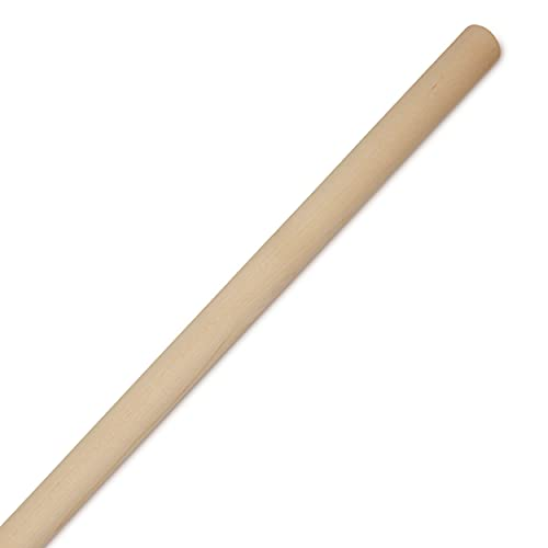 Dowel Rods Wood Sticks Wooden Dowel Rods - 1 x 36 Inch Unfinished Hardwood Sticks - for Crafts and DIYers - 2 Pieces by Woodpeckers