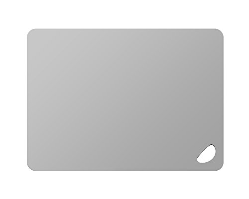 Kesper 30546 Schneidunterlage aus Peva-Kunststoff, Maße - 38 x 29 x 0.2 cm, grau
