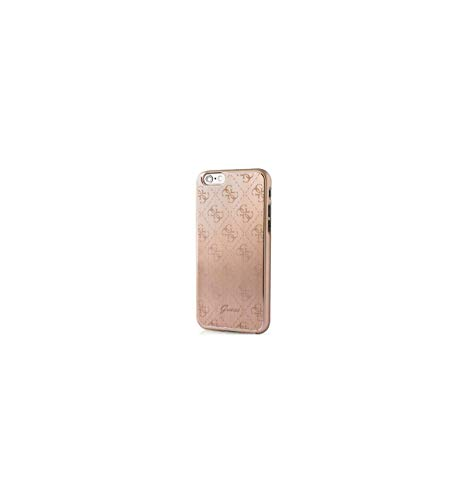 Guess GUCI015 - Carcasa metálica para Apple iPhone 6/ 6S, color rosa