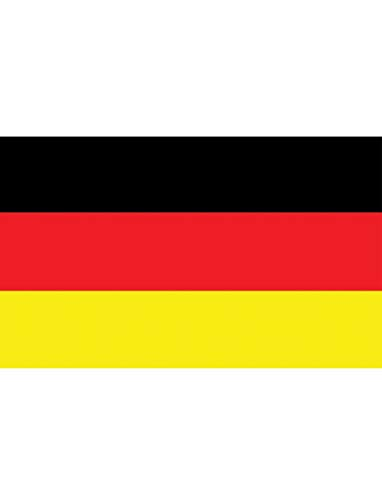 "TrendClub100® Fahne Flagge ""Deutschland Germany DE"" - 150x90 cm / 90x150cm"