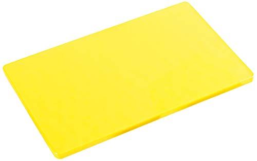 Kesper 30140 - Tagliere in plastica HACCP, 32,5 x 26,5 x 1,5 cm, Colore: Giallo