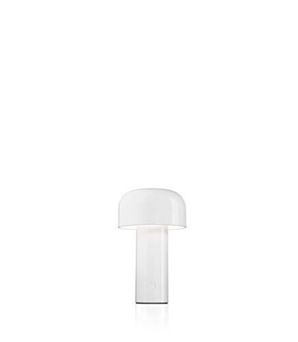 Flos Bellhop Battery, Polycarbonat, weiß, 12,5x21cm