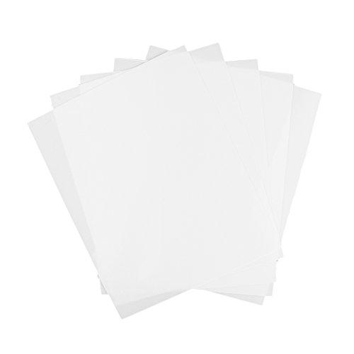 Hellery Kunstoff Platte Modellbau Modellbauplatte Blatt - Weiß, 200x250x0,5mm