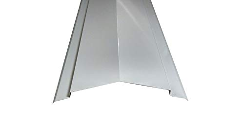 Onducolor Firsthaube (Stahl) lichtgrau, 1260x185x185 mm