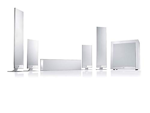 Kef T205 Sistema Home Theater 5.1, Bianco