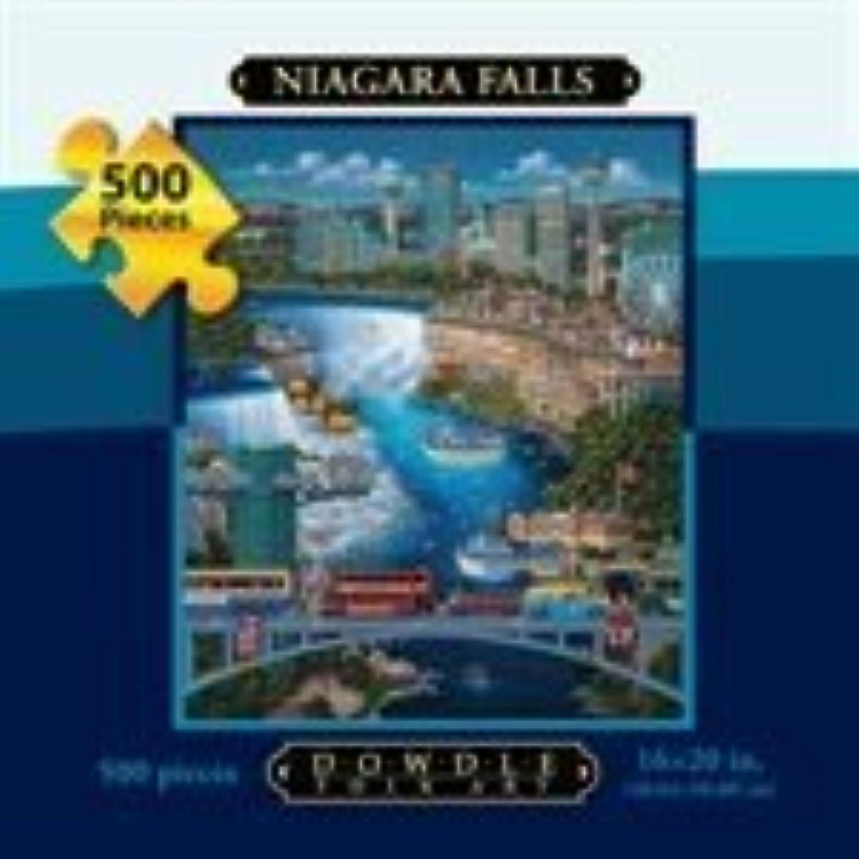 Niagara Falls 500pc 16x20 Jigsaw Puzzle by Eric Dowdle by Dowdle Folk Art