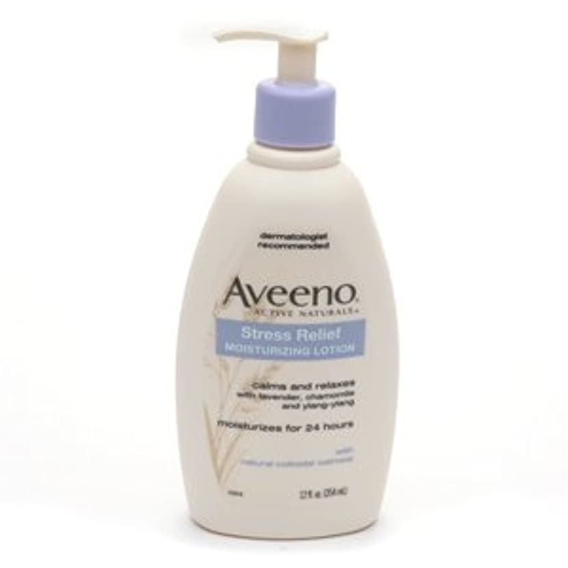 知人放射する特殊Aveeno - Stress Relief Moisturizing Lotion - 12 fl oz (354 ml)