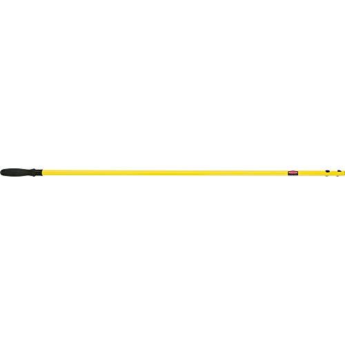 Rubbermaid Commercial Products 938957 - Mango extensible para mopa, amarillo