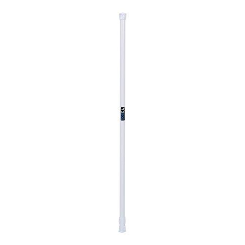 Yosoo Extensible Poteau Télescopique de Rideau de Douche pour fenêtre de Bain de Rideau Polo chargé Rod 55-90 cm