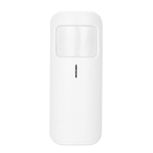 OWSOO eWeLink 433Mhz Sensor de Movimiento PIR Inalámbrico, Sensor de Alarma Antirrobo, Detector de Infrarrojos Dual, Trabajar con Alarm Host o RF Bridge 433