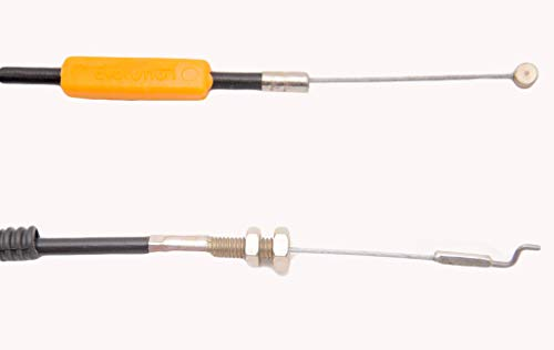 Lowest Price! Mitty Lawn and Garden Throttle Cable for Brush Cutters Shindaiwa C230 Replaces OEM 224...