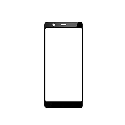 Outer Front Glass for Nokia 5.1 Black