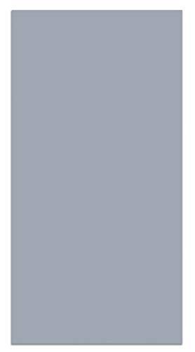 Panorama Alfombra Vinílica Lisa Azul 40x80 cm - Alfombra Cocina Vinilo - Alfombra Salón Antideslizante, Antihongos e Ignífuga - Alfombras Grandes - Alfombras PVC