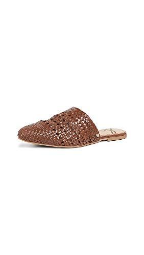 Sam Edelman Women's Natalya Mules, Brown Leather, 8 Medium US