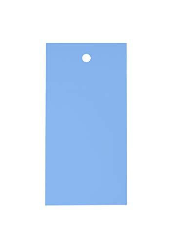 Etichette di plastica - Antistrappo e Idrorepellenti – Cartellini Prezzo Inventario Magazzino - 120mm x 60mm - 100 pezzi
