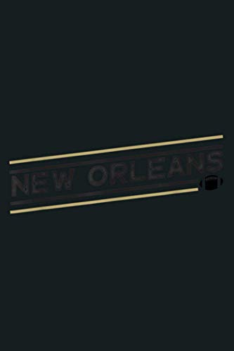 New Orleans Football Tshirt Vintage New Orleans Tshirt NOLA: Notebook Planner - 6x9 inch Daily Planner Journal, To Do List Notebook, Daily Organizer, 114 Pages